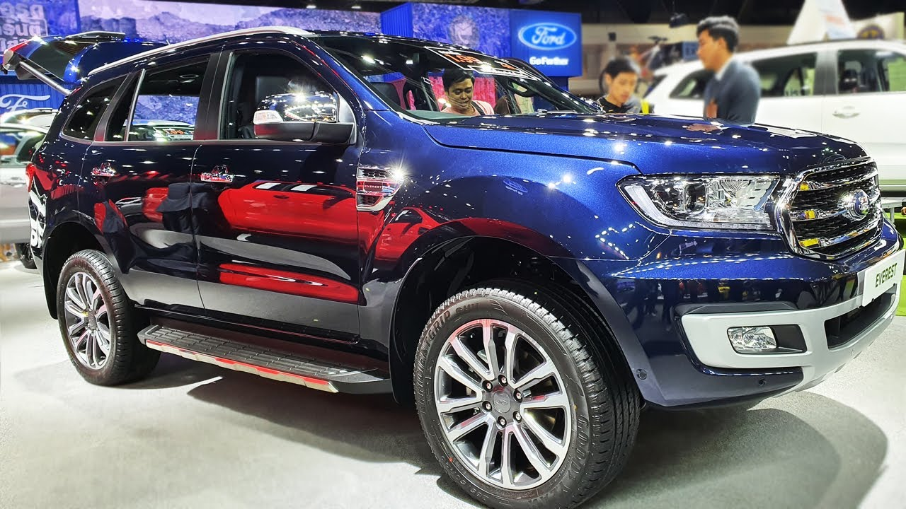 Ford Everest 2.0 L Turbo 4x2 Titanium