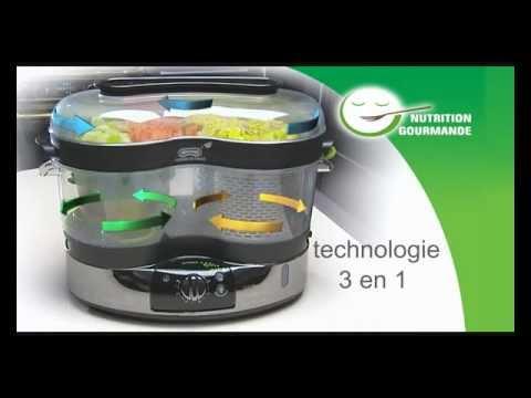 cuiseur vapeur vitacuisine gourmand seb - youtube