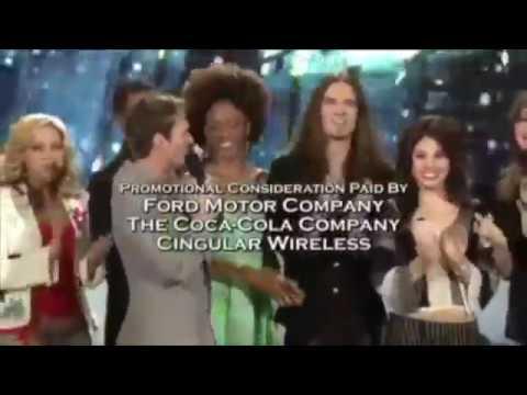 American Idol Season 4 Top 12 Phone Numbers and End Credits