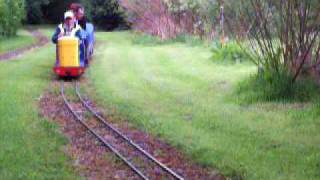 Ruswarp miniature railway may 27th 09