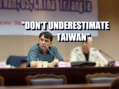 """臺灣需要多一點自信 """"Taiwan has to have a little bit more self-confidence"""" - William Stanton"""