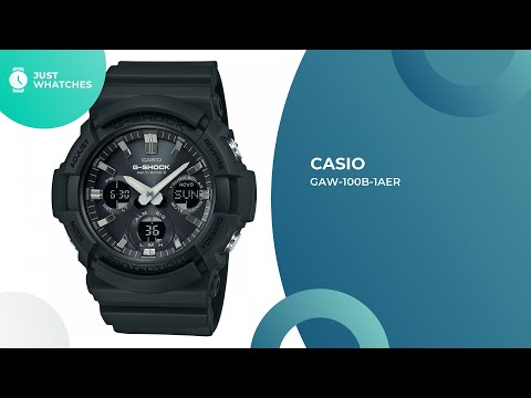 Modern Casio GAW-100B-1AER Watches for Fashionable Men Features, Detailed Specs, Prices