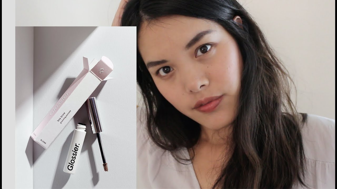 Glossier Boy Brow Youtube