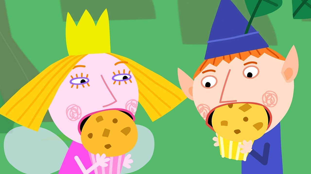 It is an image of Satisfactory Ben and Holly Pictures