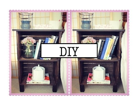 DIY Antique Inspired Nightstand or Bookcase!