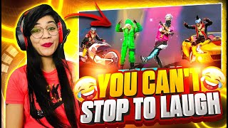 Free Fire Tik Tok Video  You Can&#39t Stop To Laugh  Reaction on Free Fire #Part2  Garena Free Fire