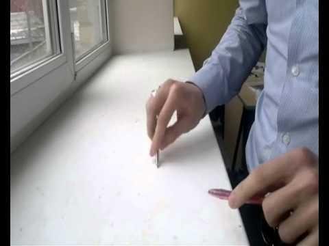 клубняк с помощью пальцев и ручки