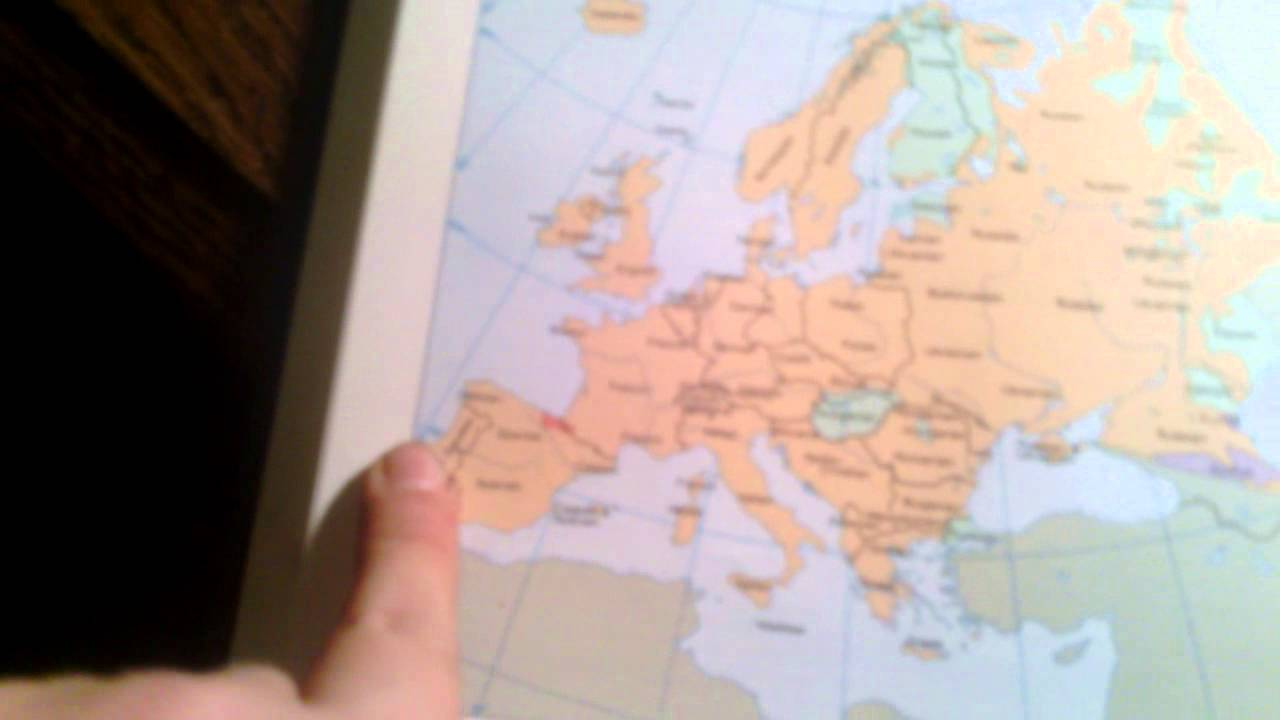 Europe Map Song Youtube