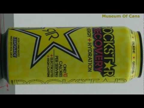 Rockstar Recovery Energy + Hydration Lemonade 2009 _ Museum Of Cans