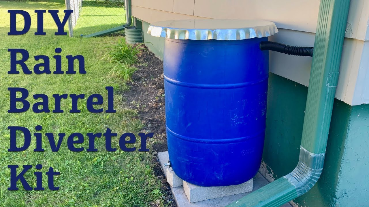 Diverter rain barrel Downspout Diverter,