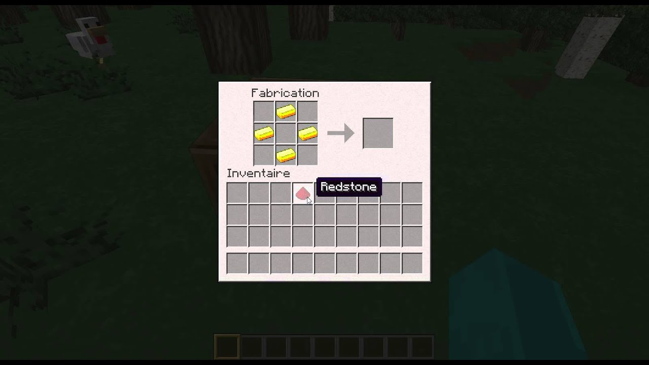 comment crafter une montre dans minecraft tuto youtube. Black Bedroom Furniture Sets. Home Design Ideas