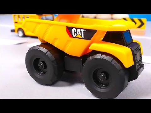 Big trucks - Cars for kids - Big trucks for children - Traffic signs - Toy cars for children