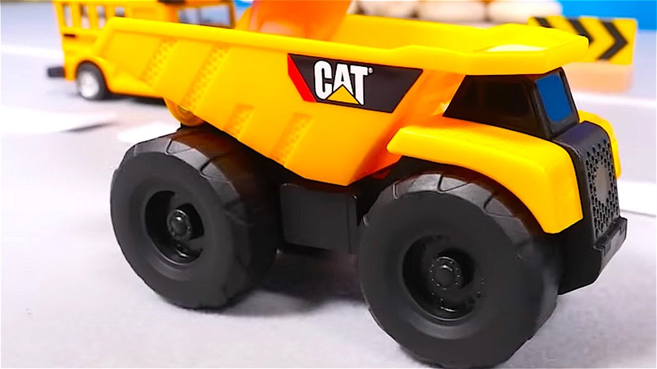 big trucks cars for kids big trucks for children traffic signs toy cars for children youtube