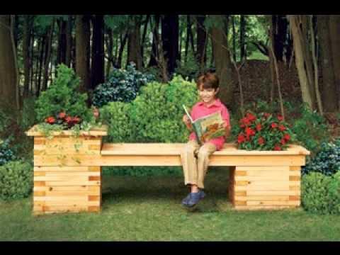 Garden Bench Decorating Ideas 2017 YouTube