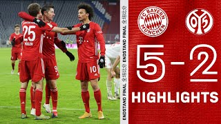 All Goals of the Huge Comeback! Highlights FC Bayern vs. Mainz 05 5-2 | Bundesliga