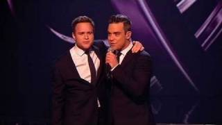 The X Factor 2009 - Olly & Robbie Williams: Angels - Live Show 10 (itv.com/xfactor) thumbnail