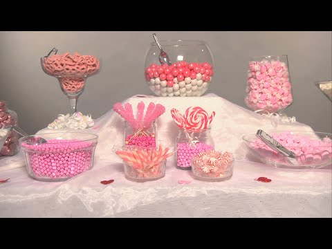 Create the Perfect Wedding Candy Buffet   Groovy Candies
