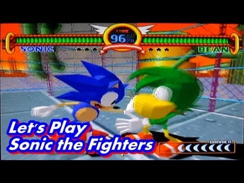 Sonic the Fighters - Playthrough Sonic Let's Play
