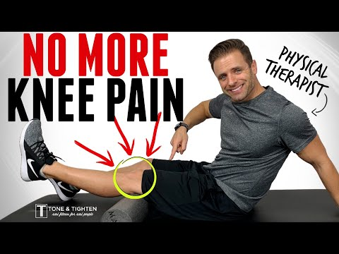 Stop Knee Pain Now! 5 Exercises To Strengthen Your Knees
