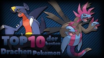TOP 10 der besten Drachen Pokemon! - 2# Drache (German/Deutsch)