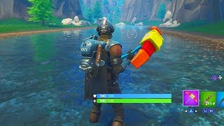 """NEW """"BLOCKBUSTER GAMEPLAY"""" FORTNITE THE VISITOR GAMEPLAY! BLOCKBUSTER UNLOCKED FORTNITE WEEK 7!"""