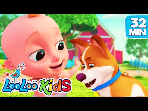 Cantec nou: Bingo and Johny- The BEST SONGS for Kids | LooLooKids