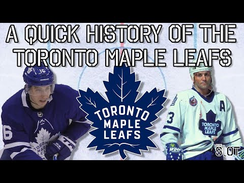 A Quick History of the Toronto Maple Leafs