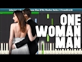 One Woman Man (John Legend - Fifty Shades Darker Soundtrack) Piano Tutorial - Free Sheet Music
