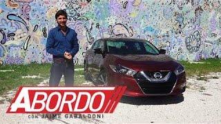 Nissan Maxima 2016  - Prueba A Bordo [Full]