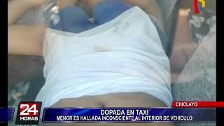 Chiclayo: encuentran a menor inconsciente dentro de un auto