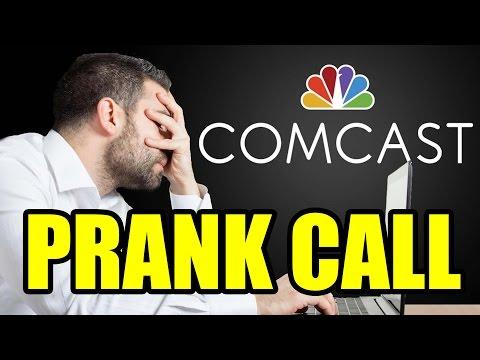 Comcast Customer Support Prank Call