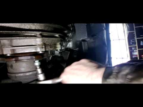Audi a4 drive shaft removal