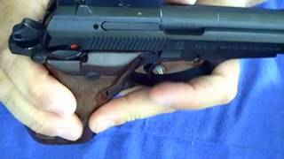 Gun Review:  Beretta M84 Cheetah .380  13 Round