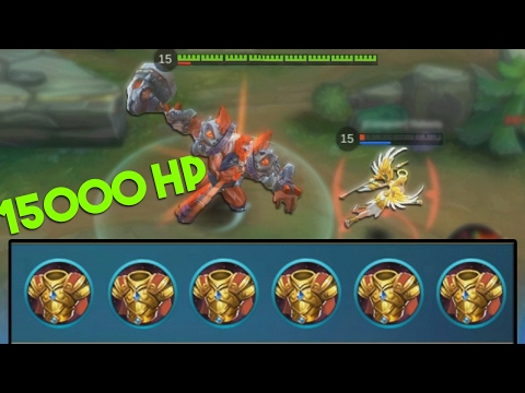 Mobile Legends Minotaur 15000+ HP (MAX HP!)