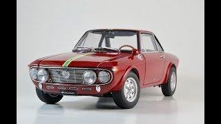 Модель автомобиля Lancia Fulvia 1.6 HF Fanalone (1972) 1:18 от AUTOart millenium.