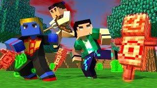 Minecraft - PARAÍSO - #50 O TREINAMENTO MORTAL!