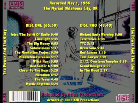 RUSH - The Power and the Glory - Power Windows Tour 1986 (full)