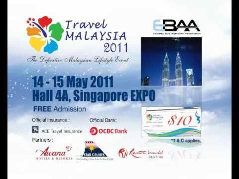 Travel Malaysia 2011 At Singapore Expo Hall 4A