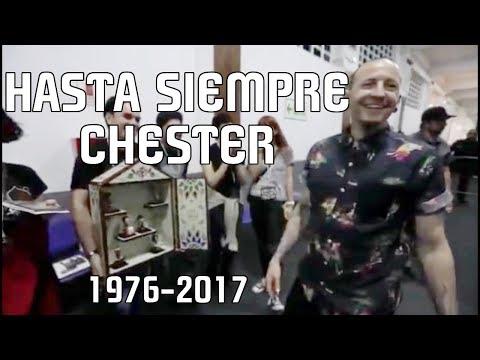 HASTA SIEMPRE CHESTER BENNINGTON, PALABRAS DE UN FAN DE HACE 17 AÑOS.