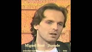 Miguel Bosé - The eighth wonder (Duende extended version) 1987