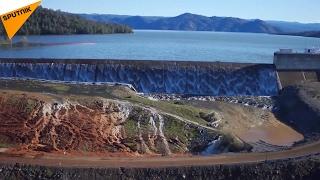 カリフォルニア 米国で最も高いダム 決壊寸前で緊急避難発令