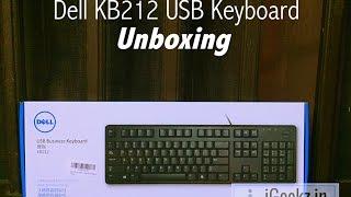 Dell KB212 USB Keyboard - Unboxing
