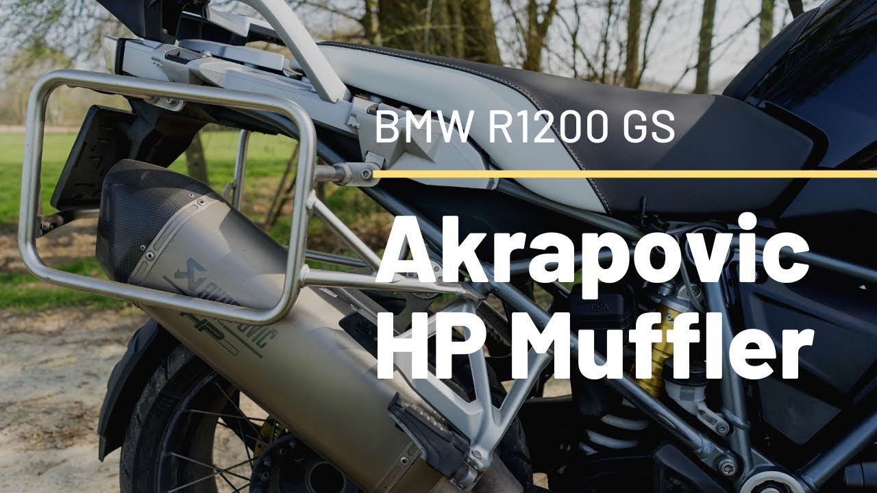 2016 bmw r 1200 gs lc akrapovic hp sportuitlaat exhaust. Black Bedroom Furniture Sets. Home Design Ideas