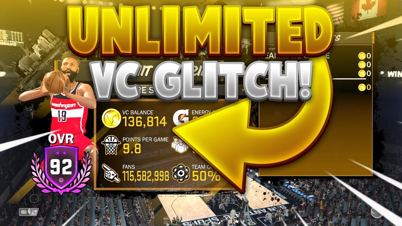 THE MOST INSANE NBA 2K18 UNLIMITED VC GLITCH FOR ALL SYSTEMS!🤑PS4 AND XBOX  ONE AND PC😱500K A HOUR!