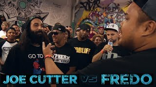 BOTZ2 - Rap Battle - Joe Cutter vs Fredo