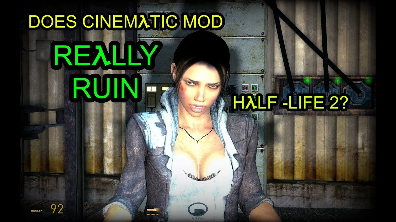 Does Cinematic Mod REALLY Ruin Half-Life 2? - YouTube