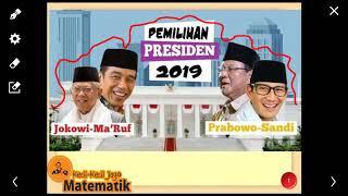 Hasil Quick Count Pilpres 2019 Jokowi Prabowo dari Lembaga Resmi KPU