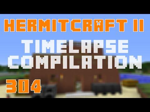 Hermitcraft II 304 Timelapse Compilation