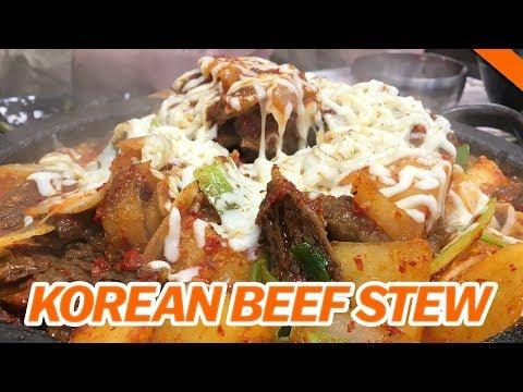 KOREAN BEEF STEWS! GALBIJJIM & GALBITANG at Sun Nong Dan w/ DAVID CHOI, SKYLER LEE