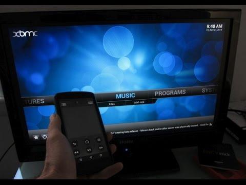 Install XBMC on the Amazon Fire TV Stick